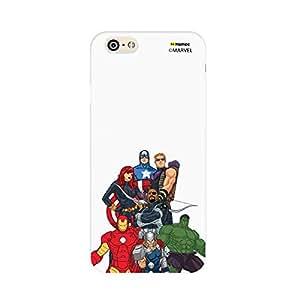 Hamee Original Marvel Character Licensed Designer Cover Slim Fit Plastic Hard Back Case for Xiaomi MI5 / Mi 5 (Avengers Group / Bottom)