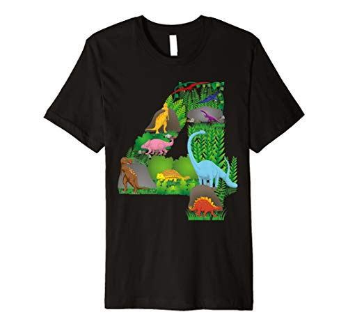 zene zum vierten Geburtstag T-Shirt ()