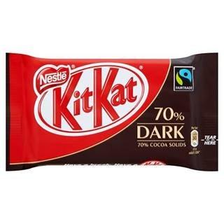 Kit Kat 4 Finger Fairtrade 70% Dark Chocolate 45G x Case of 24