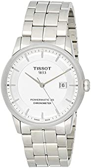 Tissot Men's Silver Dial Stainless Steel Automatic Watch - T086.408.11.392