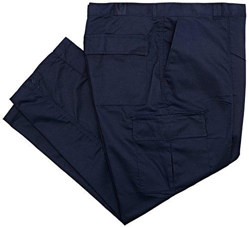 Uneek UC902 44, colore: blu Navy, colore: blu scuro-Pantaloni Cargo da lavoro