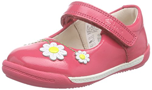 Baby Pink Patent Schuhe (Clarks Softly Jam Fst, Unisex Baby Lauflernschuhe, Pink (Coral Patent), 22 EU (5.5 Baby UK))