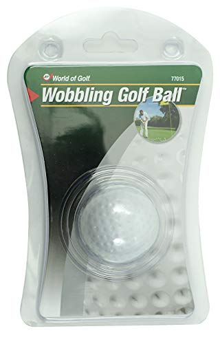 JEF WORLD OF GOLF Gifts and Gallery Golfball Wackelball, Weiß