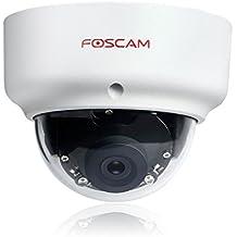 Foscam FI9961PEP Dome Camera 1080P POE IP66 IP security camera Interior y exterior Almohadilla Blanco - Cámara de vigilancia (IP security camera, Interior y exterior, 20 m, Auto, Almohadilla, Blanco)
