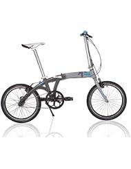 Kansi 20 3twenty 3 Speed Folding Bike White Grey Custom