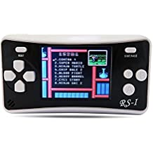 "SHANGPIN 2.5"" LCD 8-Bit 152 x Video Games Classic Portable Handheld Game Console-Black"
