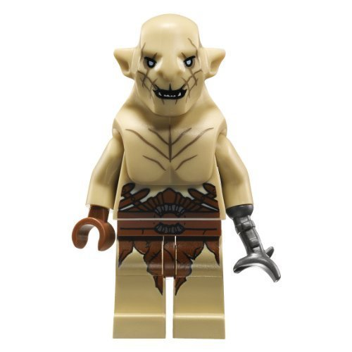LEGO Lord of the Rings - The Hobbit Theme - AZOG Minifigure (2013) from set 79014 by LEGO by LEGO (Aus Waffen Der Herr Ringe)