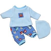 Handarbeit Puppenkleidung 43 cm Boy Junge passend für zb Baby Born Bekleidung Kleidung 14