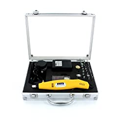 Rotacraft Variable Speed Rotary Tool Kit - Yellow