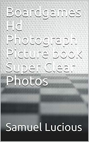 Boardgames Hd Photograph Picture book Super Clear Photos (English Edition)