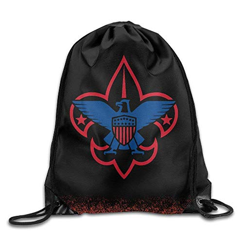 NGDUTZ Boy Scouts of America Unisex Drawstring Bag Outdoor Sackpack