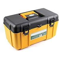 Cassetta degli attrezzi Caja de herramientas de plástico multifunción de doble espesor Caja de herramientas de hardware para el hogar 20 '' / 23 '' (Color : 20'')