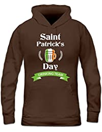 Saint Patrick's Day Drinking Team Women's Hoodie by Shirtcity