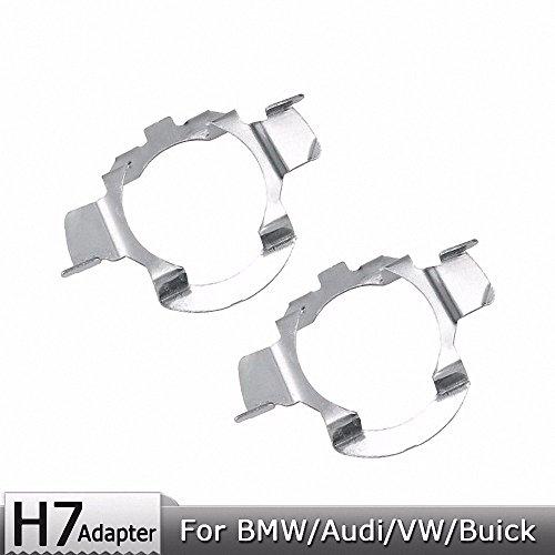 Für BMW/Audi/Bens/VW/Buick/Nissan H7 Scheinwerferlampen Metallclip Halterung Halter 1 Paar H7 Lampe Adapter Base