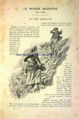 MONDE MODERNE (LE) du 01/05/1895