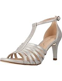 Sandalias de Vestir para Mujer, Color Plateado, Marca UNISA, Modelo Sandalias De Vestir para Mujer UNISA OCELLO...
