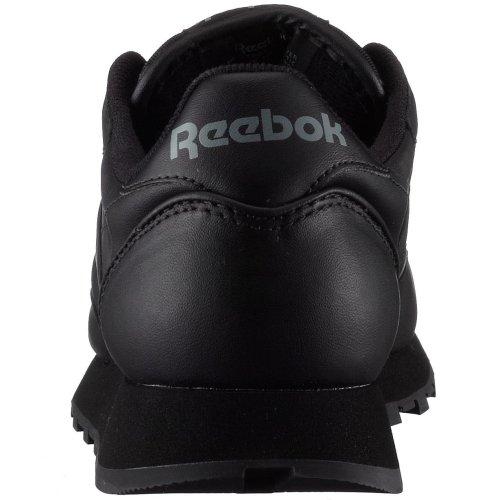 Reebok Classic Leather, Scarpe da Ginnastica Uomo Nero (Schwarz)