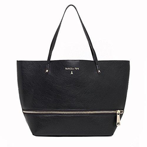 Patrizia Pepe borsa shopping con pochette 2V6353