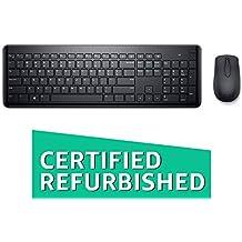 (Renewed) Dell KM117 Wireless Keyboard Mouse
