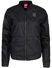 Nike W Nkct Jkt Fz Wvn - Chaqueta para mujer, color negro, talla M