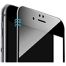 iPhone 6s / iPhone 6 Protector de Pantalla,MisVoice 3D Curvado 3D Pantalla Completa Vidrio Templado Protector de Pantalla [3D Touch Compatible] para iPhone 6 / 6s 4.7 (Negro)