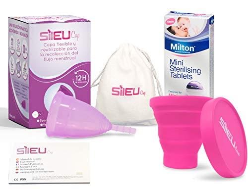 Copa Menstrual Sileu Cup Sport - Copa deportiva deportes