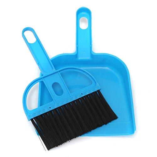 Mini portatile di plastica Paletta della tastiera del computer maniglia insieme di spazzola morbida pulizia spazzatrice a mano da cucina Dust Pan