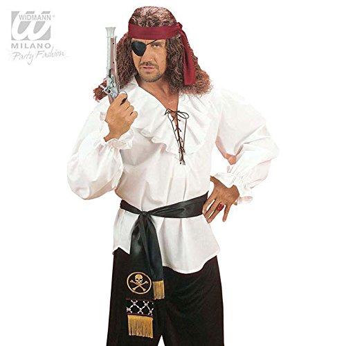 Piraten Satin-Gürtel für (Piraten Erwachsene Schärpe Schwert)