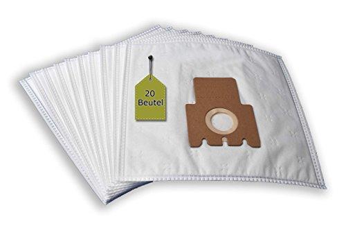 20  Staubsaugerbeutel passend für Miele Swing H1 EcoLine Plus