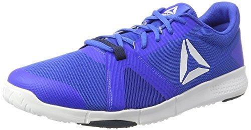 Reebok Trainflex Lite, Chaussures de Fitness Homme Bleu (Virtual Blue/collegiate Navy/white)