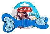 Bob Martin F0940 Gummi-Zahnpflegeknochen, S, blau