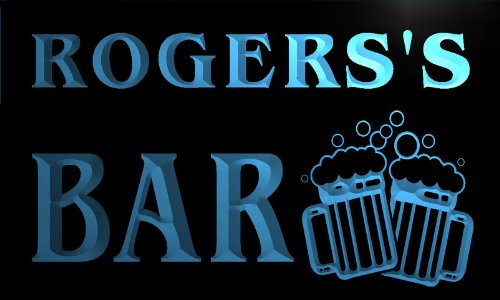 cartel-luminoso-w000061-b-rogers-name-home-bar-pub-beer-mugs-cheers-neon-light-sign