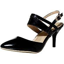 Zapatos Mujer Tacon Medio