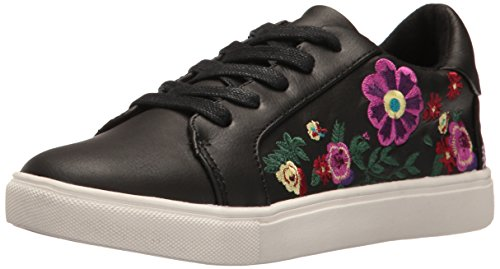 Betsey Johnson Women's Mayas Fashion Sneaker, Black/Multi, 6.5 M US (Betsey Johnson Unter 40)