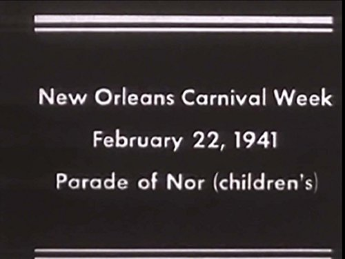 New Orleans Carnival Week, February 22, 1941