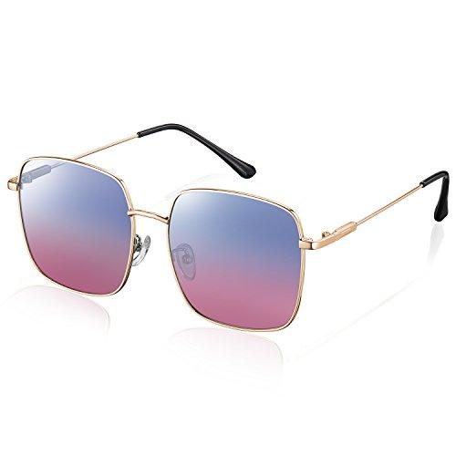 ¡Las gafas de sol polarizadas REZI enfocan el diseño y la calidad! ¡Nos dedicamos a ofrecer gafas de moda asequibles para nuestros clientes! Encontrarás muchas diferencias de la siguiente manera:  1.Mejor lente: nuestras lentes son de alta d...