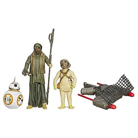 Star Wars The Force weckt 3.75-inch Desert Mission bb-8und unkar 's Thug Figur (3Stück) (1 Anakin Skywalker Action-figur)