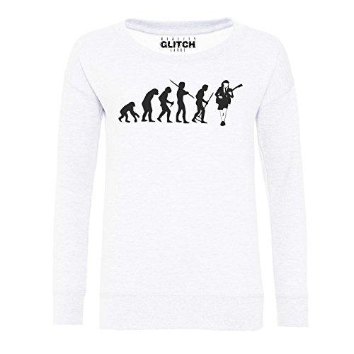 Reality Glitch - Sweat-shirt - Femme Blanc