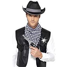 Smiffys Men's Western Accessory Kit (Large - X-Large)