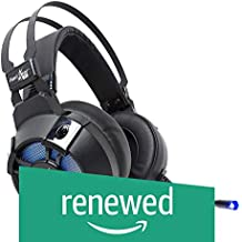 (Renewed) Redgear Cosmo 7.1 Gaming Headphones with RGB LED Effect, Mic and in-line Controller