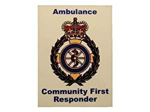 Community First Responder Vehicle Window Badge