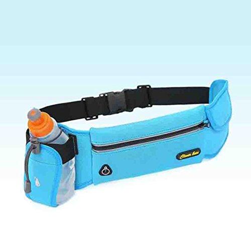 Taille Tasche Sport Wasserflasche Multifunktionale Laufen Draußen Reise Mobile Pocket orange red