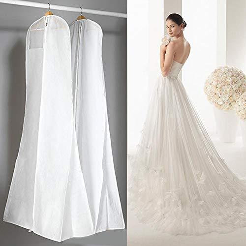 Kleidersack Schutzhülle Anti-Staub Hochzeitskleid Kleidersack Displayschutzfolie Abdeckung für...