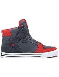 38be17533b3e Amazon.es  zapatillas supra rojas - Supra  Zapatos y complementos