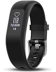 Garmin vivosmart 3 Fitness-Tracker - verstecktes gestik- & tapaktiviertes OLED-Touchdisplay, Herzfrequenzmessung am Handgelenk
