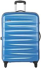 Safari Polycarbonate 30 inches Aqua Blue Hardsided Check-in Luggage (WEDGE774WABL)