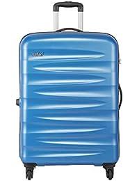 Safari Wedge Polycarbonate 77 cms Aqua Blue Hardsided Check-in Luggage (WEDGE774WABL)