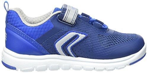 Geox J Xunday B, Sneakers Basses Garçon Bleu (Navy/royalc4226)