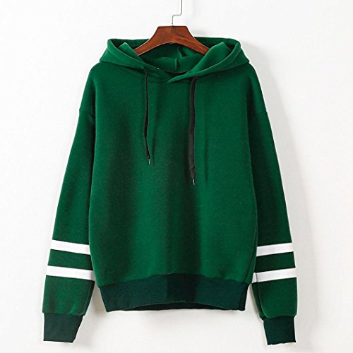 Ouneed® Pull a capuche Classique Vert