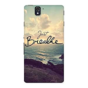 Neo World Just Breathe Back Case Cover for Sony Xperia Z
